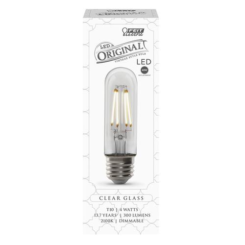Feit Electric 40w Equivalent Soft White A15 Dimmable: Feit Electric® 40W Equivalent T10 Soft White Dimmable LED