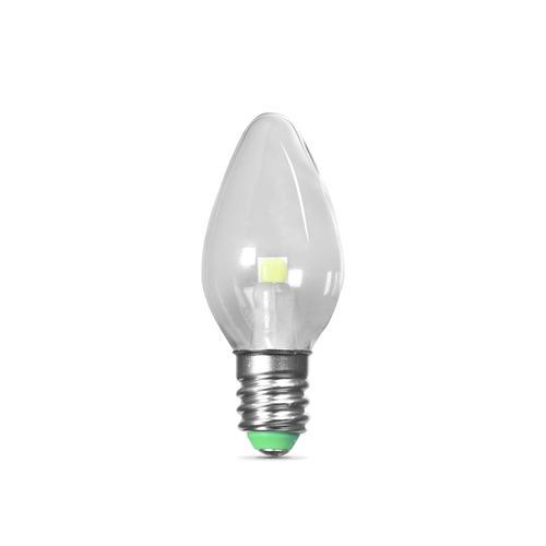 Feit Electric C7 E12 Candelabra Base Green Led Light Bulb 2 Pack