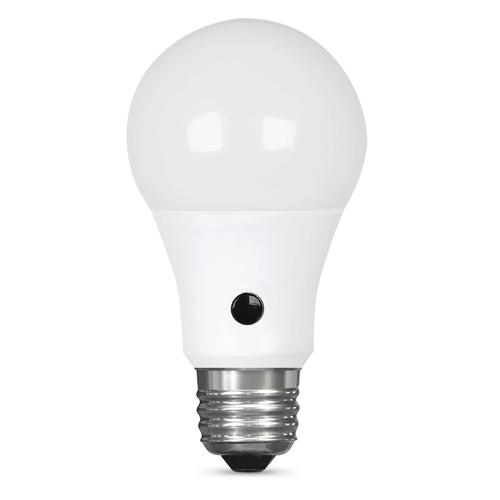 Feit Electric 60w Equivalent A19 Daylight Dusk To Dawn Led Light Bulb