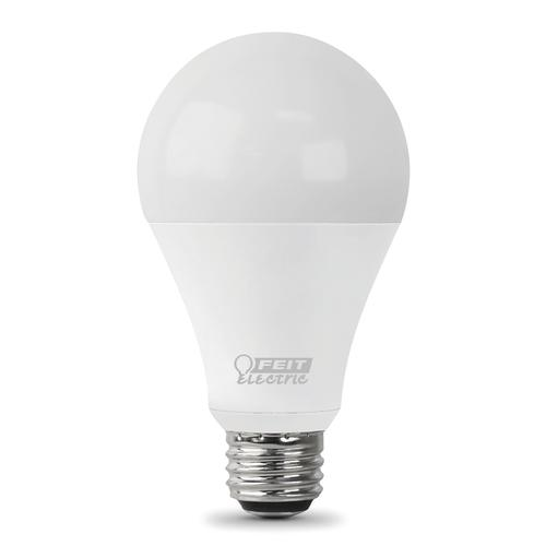 Feit Electric 40w Equivalent Daylight G25 Dimmable Clear: Feit Electric® 150W Equivalent A21 Daylight Dimmable LED