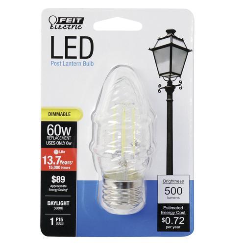 Feit Electric 174 60w Equivalent F15 Daylight Post Light