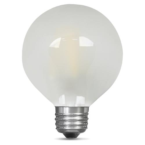 Feit Electric 40w Equivalent Daylight G25 Dimmable Clear: Feit Electric® 40W Equivalent G25 Daylight Dimmable Globe