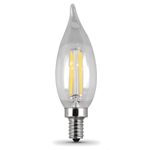 Feit Electric Dimmable Candelabra E12 Decor B10 Led Light Bulb 6 Pack At Menards
