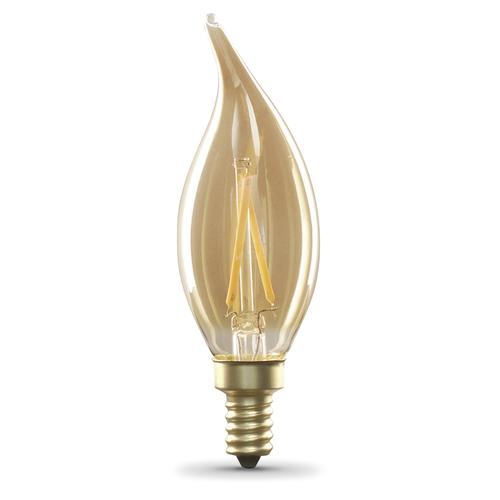 Feit Electric Ca10 Soft White Amber Dimmable Led Light Bulb