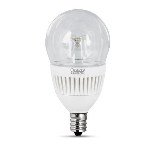 feit led dimmable a15 shape clear candelabra base light bulb at menards - A15 Bulb
