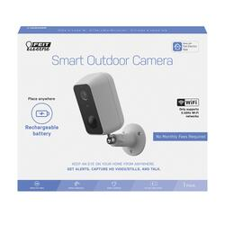Feit Electric Outdoor Battery Powered Smart Wi-Fi Camera ...