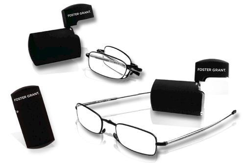 Foster Grant Reading Sunglasses  foster grant gideon silver microvision folding reading glasses for