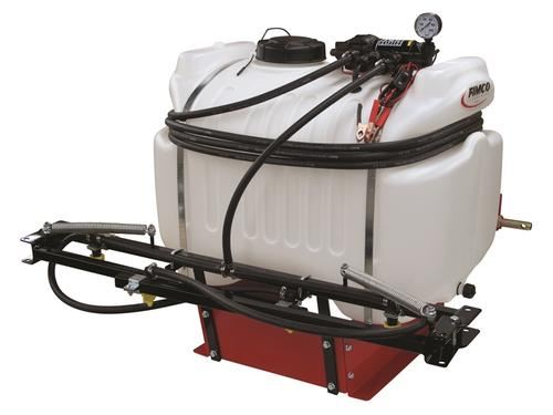 FIMCO 40 Gallon 3 Point 12 volt sprayer with 2 1 gpm Pump at