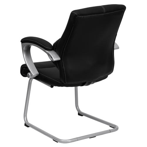 Fine Flash Furniture Black Leather Executive Side Chair At Menards Pdpeps Interior Chair Design Pdpepsorg