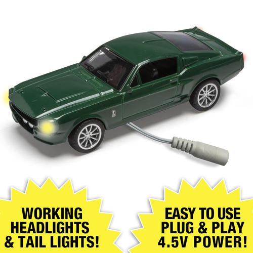 Lighted 1:48 Die-Cast 1967 Shelby GT500 (Green) at Menards®