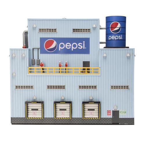 O Gauge Pepsi Bottling Plant