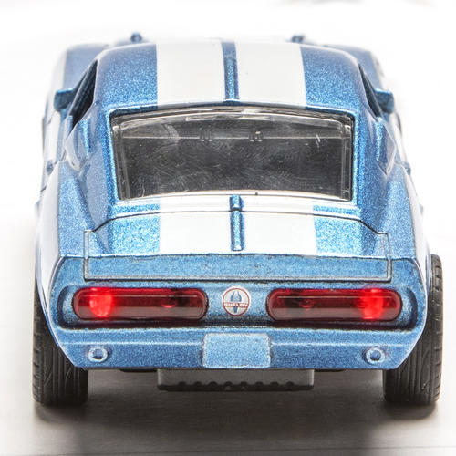 Lighted 1:48 Die-Cast 1967 Shelby GT500 (Blue) at Menards®