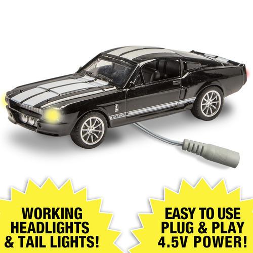 Lighted 1:48 Die-Cast 1967 Shelby GT500 (Black) at Menards®