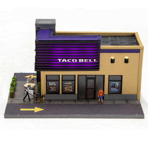 image relating to Printable Taco Bell Applications referred to as HO Scale Taco Bell® at Menards®