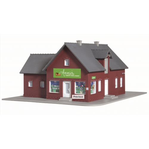 HO Scale Model Power Annie's Country Store (Building Kit) at