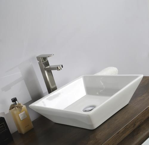 Tuscany Aria 16 X White Porcelain Vessel Sink At Menards