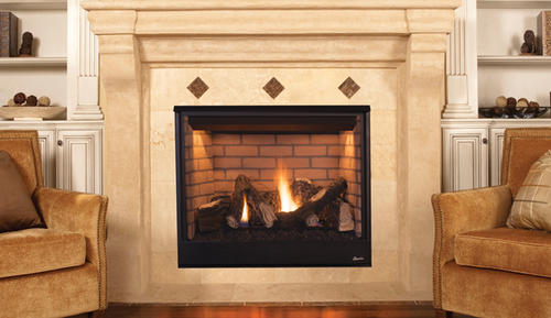 Superior 35 Aurora Direct Vent Natural Gas Fireplace Insert Only