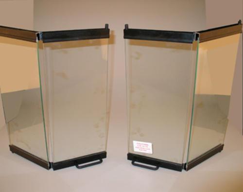 Ihp 36 Deluxe Aluminum Bi Fold Glass Doors At Menards