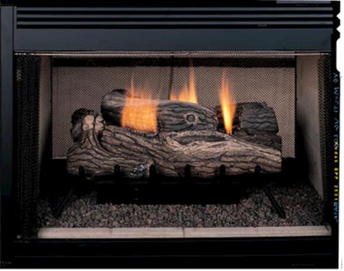 Superior 27 Vent Free Propane Gas Fireplace Logs At Menards