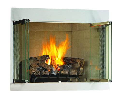 Superior 36 Vent Free Outdoor Propane Fireplace Insert Only At
