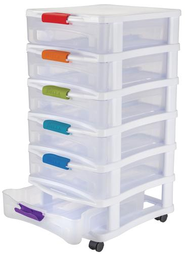 Bella 6 Drawer Storage Cart At Menards®