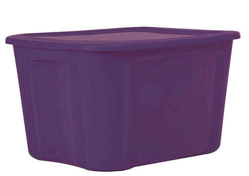 Purple Storage Tote Home Ideas
