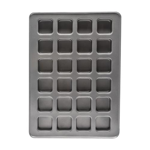 Culinary edge mega non stick 24 cup brownie pan 15 x 21 at menards malvernweather Gallery