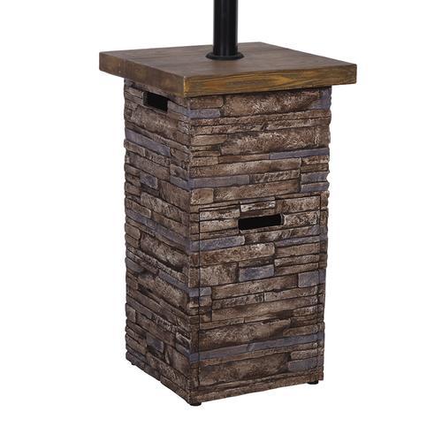 Backyard Creations® 41,000 BTU Stackstone Propane Patio ...