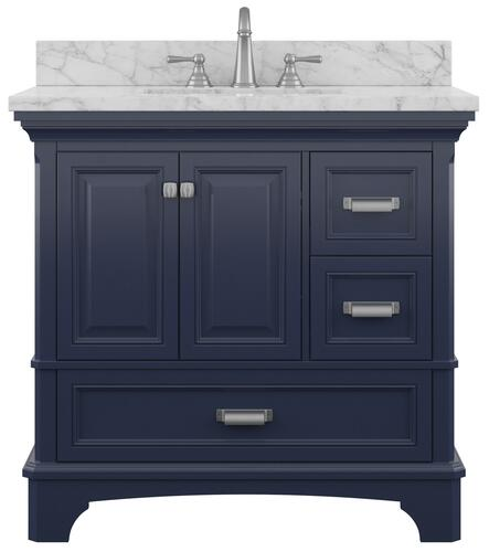 Foremost Williamson 36 W X 21 1 2 D Bathroom Vanity Cabinet At Menards