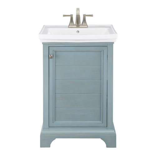 Pleasant Foremost 23 5 8W X 17 7 8D Reid Vanity And White Vanity Interior Design Ideas Tzicisoteloinfo