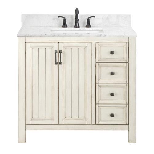 Foremost Hiland 36 W X 21 1 2 D Bathroom Vanity Cabinet At Menards