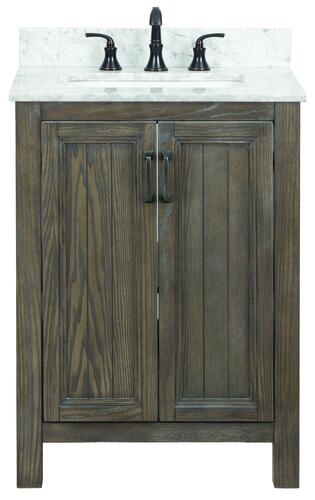 Foremost Hiland 24 W X 21 1 2 D Bathroom Vanity Cabinet At Menards