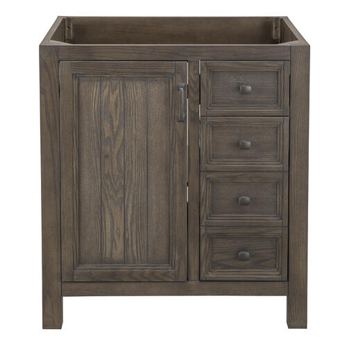Awesome Foremost Hiland 30W X 21 1 2D Dark Oak Bathroom Vanity Interior Design Ideas Tzicisoteloinfo