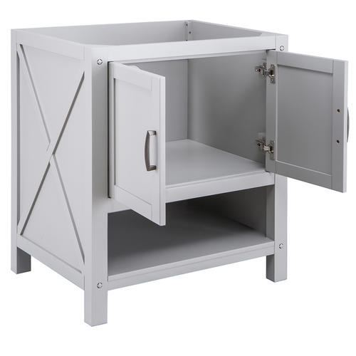 """Foremost® Rayna 30""""W x 22""""D Gray Bathroom Vanity Cabinet ..."""