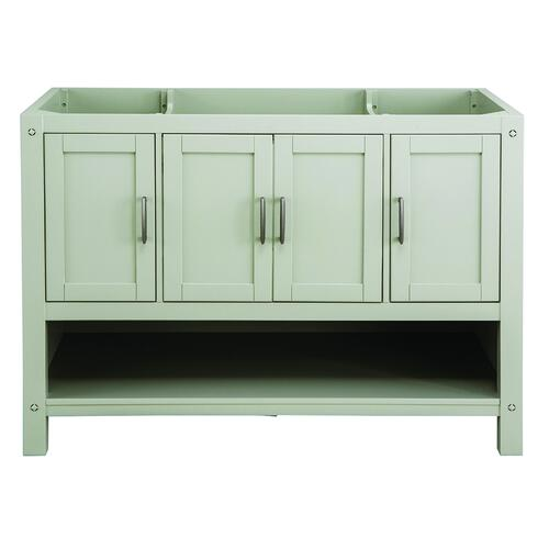 Surprising Foremost Rayna 48W X 22D Gray Bathroom Vanity Cabinet At Complete Home Design Collection Epsylindsey Bellcom