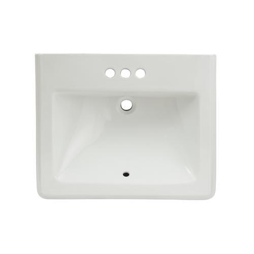 Foremost Cavalier Square Pedestal Sink at Menards®
