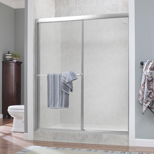 Foremost 174 Tides 44 Quot W X 66 Quot H Framed Sliding Shower Door At