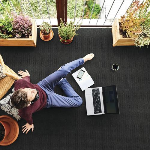 Foss 174 Ecofi City Block Indoor Outdoor Carpet 12 Ft Wide