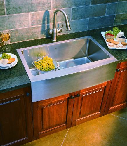 Franke Farmhouse Apron Front 33 Stainless Steel Single Bowl Kitchen Sink At Menards