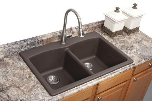 Franke Dual Mount 33 Quot Granite 1 Hole Double Bowl Kitchen