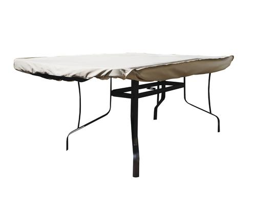 Pleasing Backyard Creations Deluxe Rectangle Oval Patio Table Cover Download Free Architecture Designs Scobabritishbridgeorg