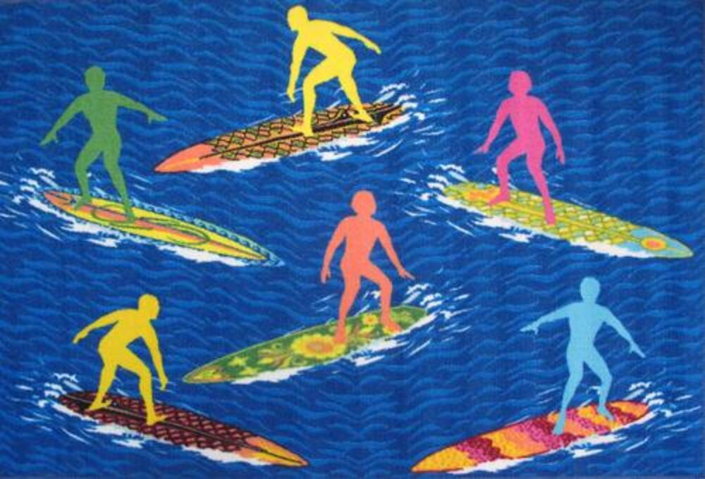 Fun Rugs Surf Time 3 3 X 4 10 Area Rug At Menards