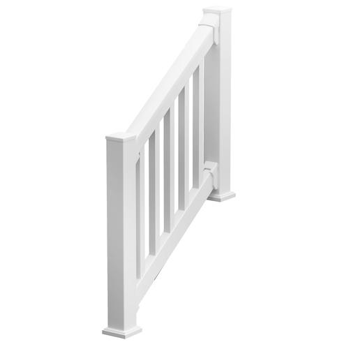 Fypon 174 Quickrail 174 36 Quot X 72 Quot Rectangle Stair Rail Kit With