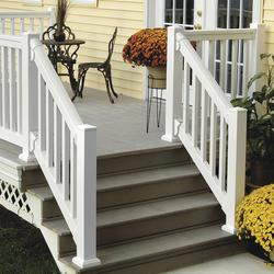 Fypon 174 Quickrail 174 Premium Stair Rail Kit With Square