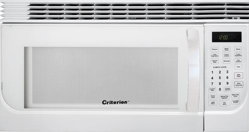 White Over The Range Microwave At Menards