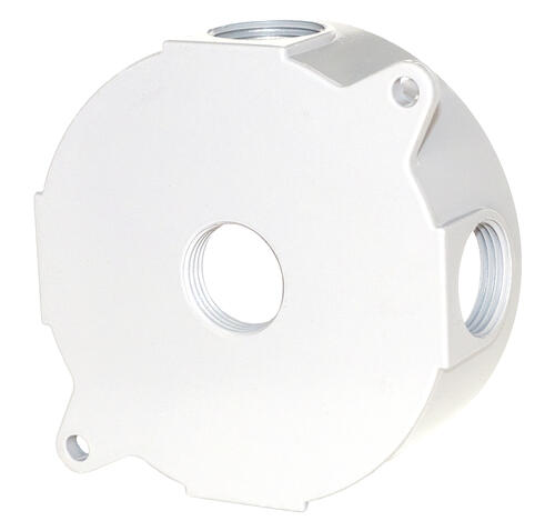 Sigma Round 3 4 Quot 5 Hole Weatherproof Electrical Box At