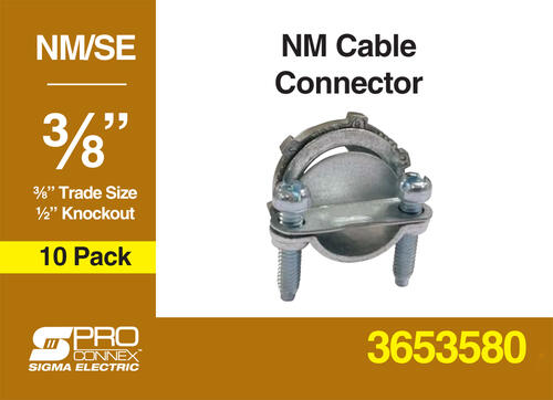 Sigma Proconnex 3 8 Nm Connector 10 Pack At Menards