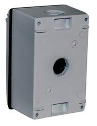 Sigma Weatherproof Box Cover Gfci Receptacle Combo Kit At