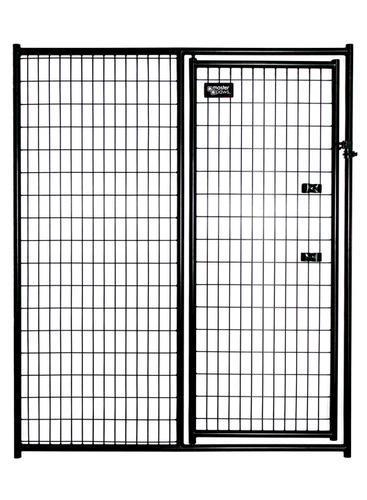 Master Paws 6 X 5 Heavy Duty Gate Black Panel At Menards