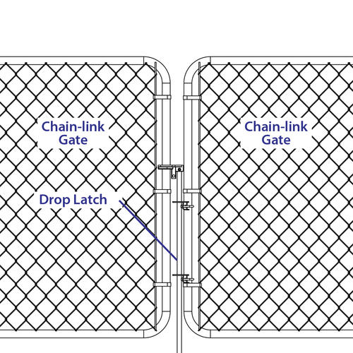 Chain Link Fence Drop Latch Embly At Menards